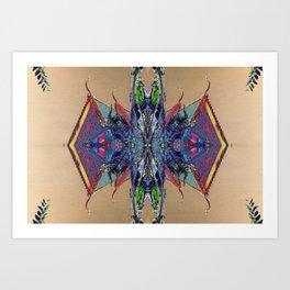 Psycho Exotic, The Thai Temple no. 2 Art Print