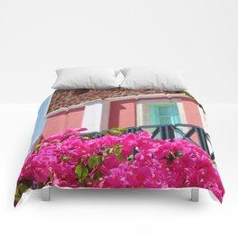 Lovely Santorini Comforters