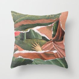 Analog Renaissance I Throw Pillow
