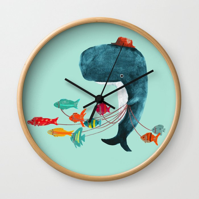 My Pet Fish Wall Clock