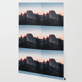 Last Light at Yosemite National Park Wallpaper