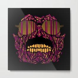 Bohemian Zombie Metal Print