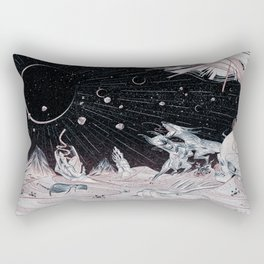 HUNGRY GHOST Rectangular Pillow