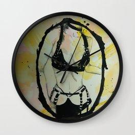 Watercolour 1 Wall Clock
