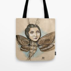 MOTH LADY Tote Bag
