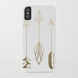 Be Brave Little Arrow (gold) iPhone Case