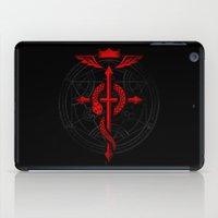 fullmetal iPad Cases featuring Full of Alchemy - Fullmetal alchemist by R-evolution GFX