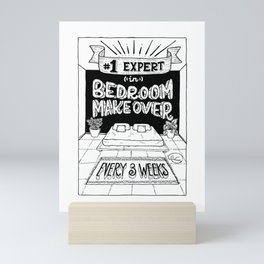 Bedroom Makeover Award Mini Art Print