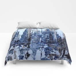 Dream in blue Comforters