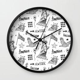 America art#2 Wall Clock