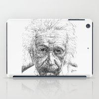 einstein iPad Cases featuring Einstein by Les Joanneries & Jacques Lajeunesse