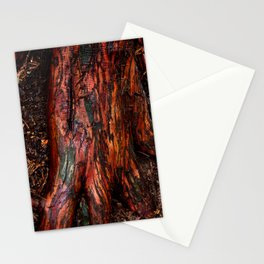 bark red Stationery Cards
