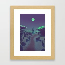 They stay with us Framed Art Print