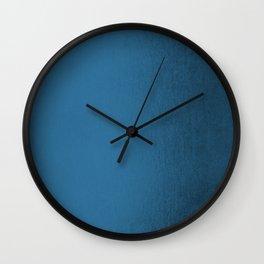 Saltwater Taffy Teal Shimmer Wall Clock