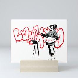 Banksy The Painter Velasquez, Portobello Road, Street Art, Grafitti, Artwork, Design For Men, Wom Mini Art Print
