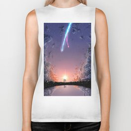 "Kimi No Na Wa ""Your Name"" v4 Biker Tank"