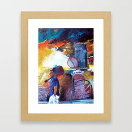 BOHEMIAM Framed Art Print