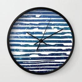 Galaxy- Handmande Print, Home Decor, Modern Minimalist Poster, Digital Print, Pattern Print Wall Clock