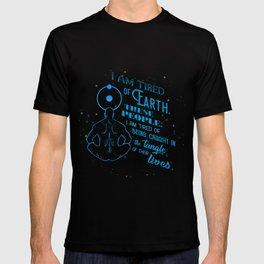 Dr. Manhattan - Tired of Earth T-shirt