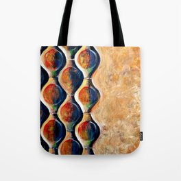 Peacock abstract 3D Tote Bag