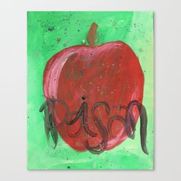 Poison Apple - Villain Inspired Painting Canvas Print