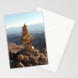 Joshua Tree Rock Stacking Stationery Cards