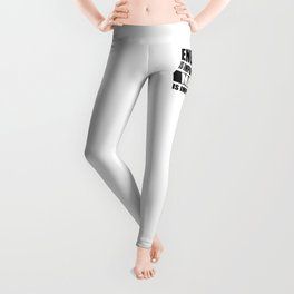 english is important but math is importanter merchandise Leggings