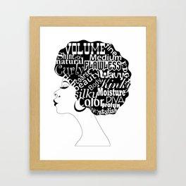 Afro-Centric Framed Art Print