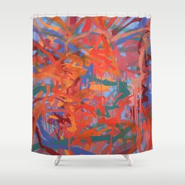 Myriad and Sole 1 Shower Curtain