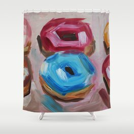 Donuts, desert, sweet Shower Curtain