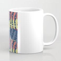 seagrass pattern - blue red yellow Coffee Mug