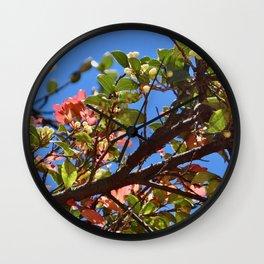 Tree Buds Wall Clock