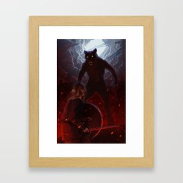 A war of all against all Framed Art Print