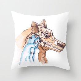 Punked Princess  Throw Pillow