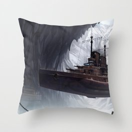 Northern Base Throw Pillow