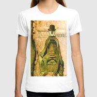 brussels T-shirts featuring Monsieur Bone et la liberté by Joe Ganech
