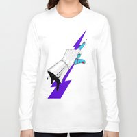 master chief Long Sleeve T-shirts featuring Space Chief by Dzohn