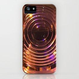 Nautical Lighthouse Crystal iPhone Case