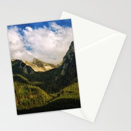 All That Is Above - Mountainscape Stationery Cards