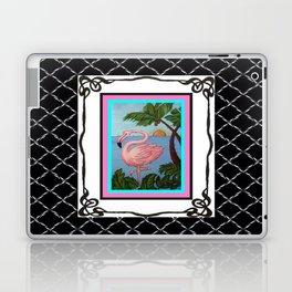 Flamingo Paradise Laptop & iPad Skin