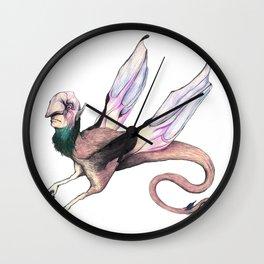 Winged Beast Wall Clock