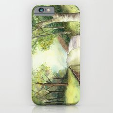 Trees by the canal iPhone 6s Slim Case