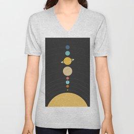Solar System Unisex V-Neck