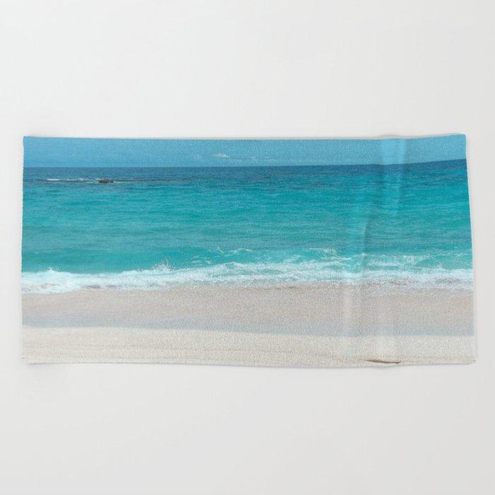 Take a Deep Breath Beach Towel