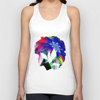 afro Tank Tops featuring Afro by SmartyArt Chick