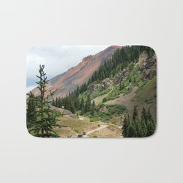 Road to the Longfellow Mine, elevation 11,080 feet Bath Mat