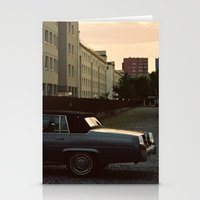 car Stationery Cards featuring car by Martyna Syrek