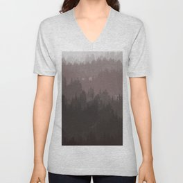The cold forest Unisex V-Neck