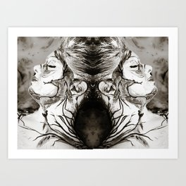 Overtaken by Reflection Art Print