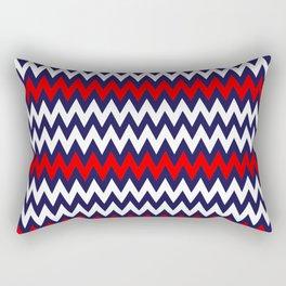 Wave of Patriotism Rectangular Pillow